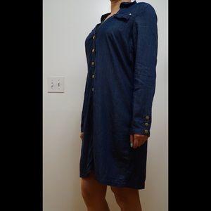 Tops - ⭐️FREE⭐️ NWOT Long Sleeve Tunic Denim